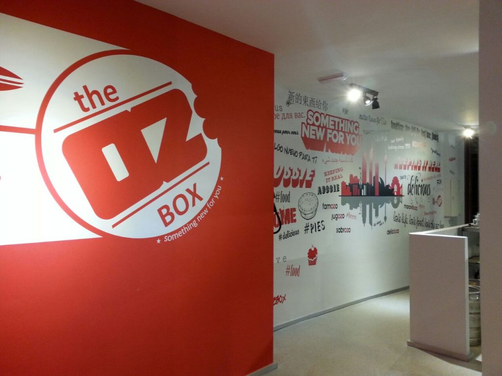 Reforma de espacio para The OZbox